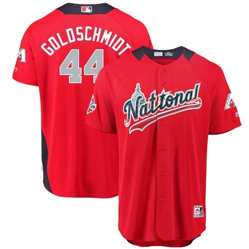 Diamondbacks #44 Paul Goldschmidt Red 2018 All-Star National League Stitched Baseball Jersey