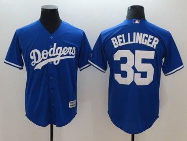Dodgers 35 Cody Bellinger Blue Cool Base Jersey