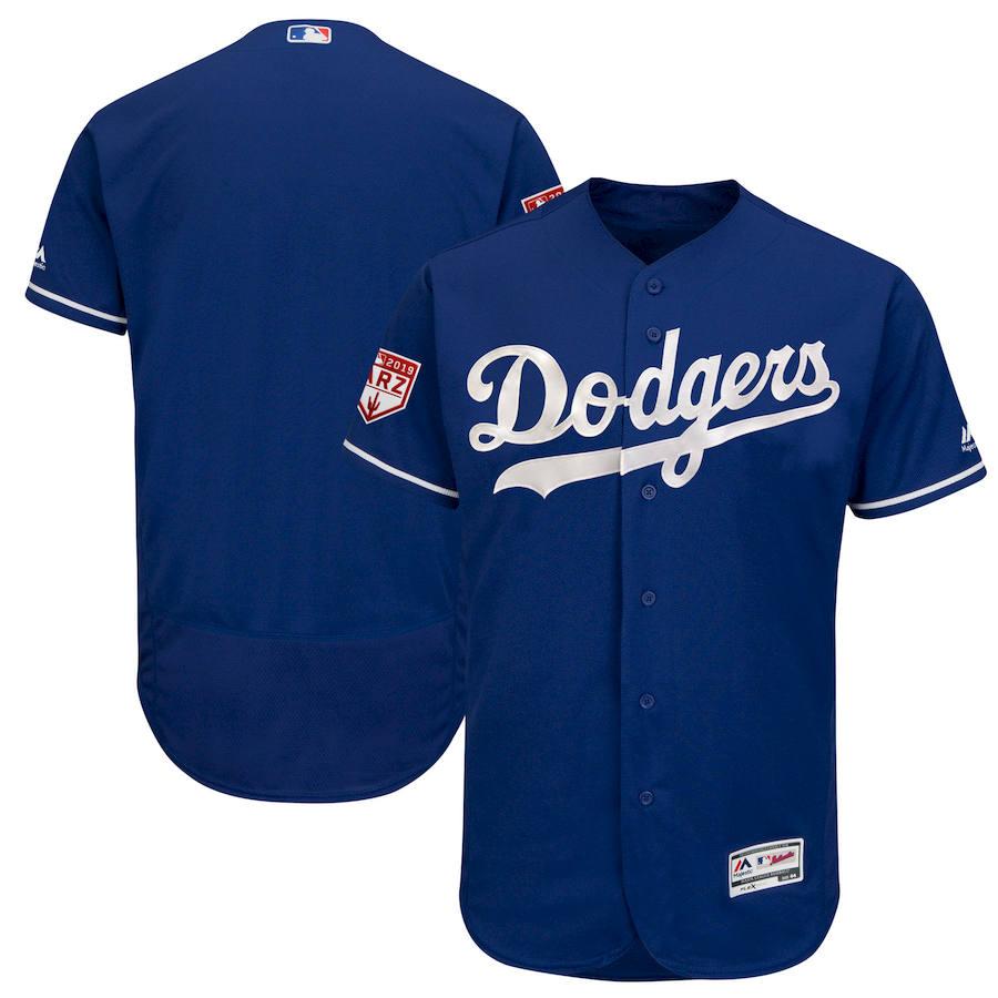 Dodgers Royal 2019 Spring Training Flexbase Jersey
