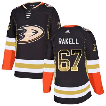 Ducks 67 Rickard Rakell Black Drift Fashion Adidas Jersey