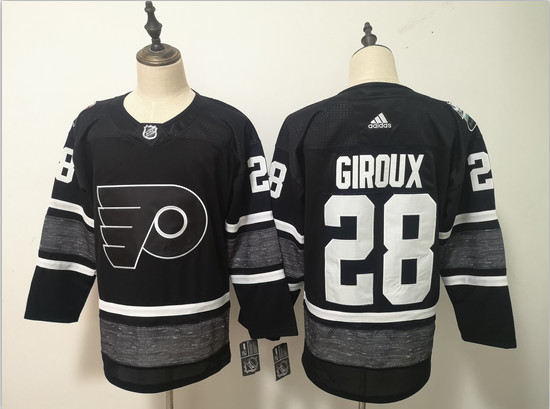 Flyers 28 Claude Giroux Black 2019 NHL All-Star Game Adidas Jersey