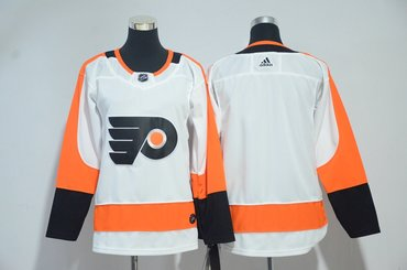 Flyers Blank White Youth Adidas Jersey