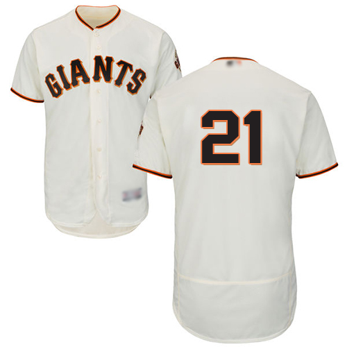 Giants #21 Stephen Vogt Cream Flexbase Authentic Collection Stitched Baseball jerseys