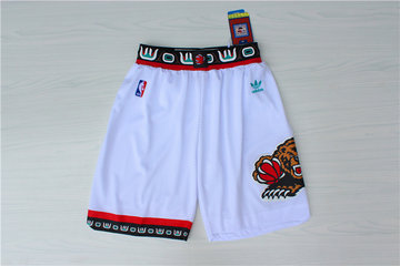 Grizzlies White Hardwood Classics Shorts