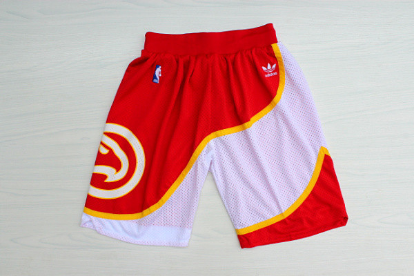 Hawks Red Hardwood Classics Shorts