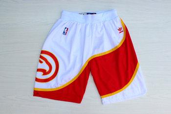 Hawks White Hardwood Classics Shorts