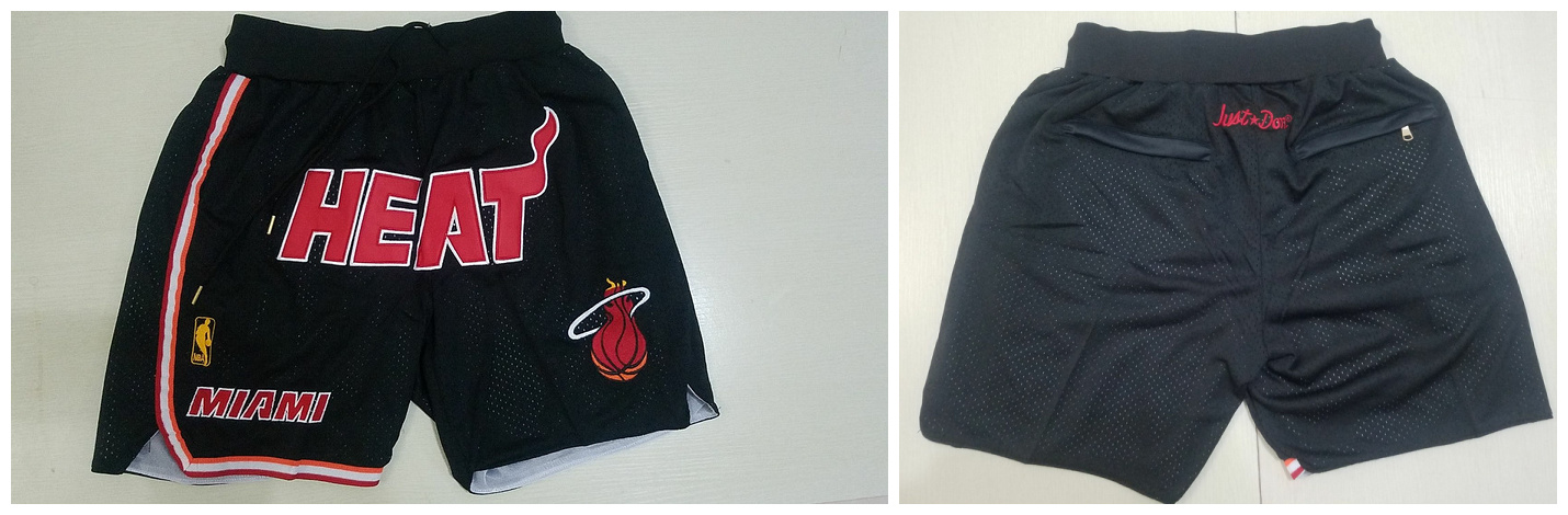 Heat Black Mesh Shorts