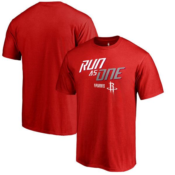 Houston Rockets Fanatics Branded 2018 NBA Playoffs Slogan T-Shirt Red