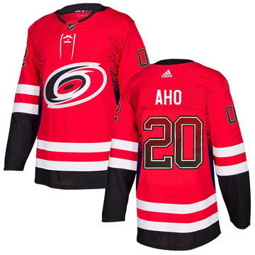 Hurricanes 20 Sebastian Aho Red Drift Fashion Adidas Jersey