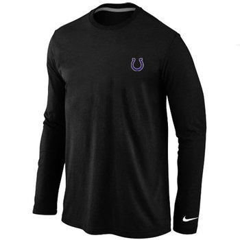 Indianapolis Colts Sideline Legend Authentic Long Sleeve T-Shirt Black