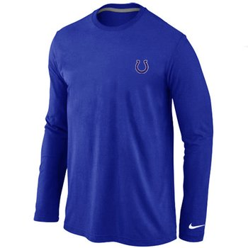 Indianapolis Colts Sideline Legend Authentic Long Sleeve T-Shirt Blue