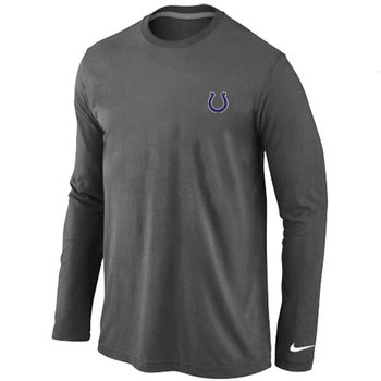 Indianapolis Colts Sideline Legend Authentic Long Sleeve T-Shirt D.Grey
