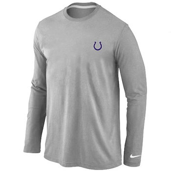 Indianapolis Colts Sideline Legend Authentic Long Sleeve T-Shirt Grey