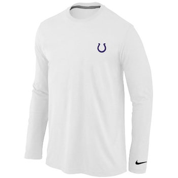 Indianapolis Colts Sideline Legend Authentic Long Sleeve T-Shirt White