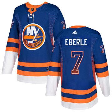 Islanders 7 Jordan Eberle Royal Drift Fashion Adidas Jersey