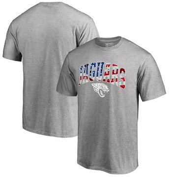 Jacksonville Jaguars Pro Line By Fanatics Branded Banner Wave T-Shirt Heathered Gray