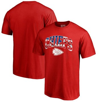 Kansas City Chiefs Pro Line By Fanatics Branded Banner Wave T-Shirt Red