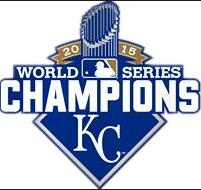 Kansas City Royals 2015 World Series patches