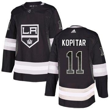 Kings 11 Anze Kopitar Black Drift Fashion Adidas Jersey