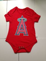LA Angels of Anaheim MLB Kids Newborn&Infant Gear Red