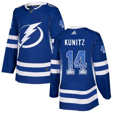 Lightning 14 Chris Kunitz Blue Drift Fashion Adidas Jersey
