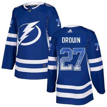 Lightning 27 Jonathan Drouin Blue Drift Fashion Adidas Jersey