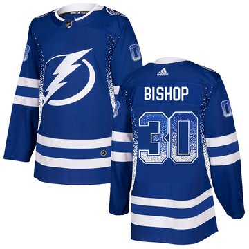 Lightning 30 Ben Bishop Blue Drift Fashion Adidas Jersey