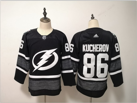 Lightning 86 Nikita Kucherov Black 2019 NHL All-Star Game Adidas Jersey