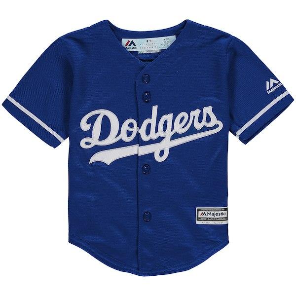 Los Angel Dodgers Blue Toddler Cool Base Jersey