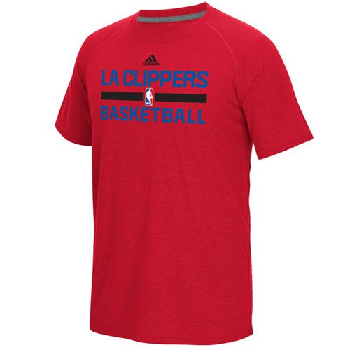 Los Angeles Clippers Adidas On-Court Climalite Ultimate T-Shirt Red