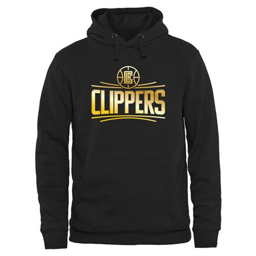 Los Angeles Clippers Gold Collection Pullover Hoodie Black