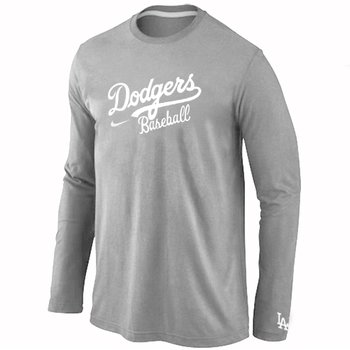 Los Angeles Dodgers Long Sleeve T-Shirt Grey