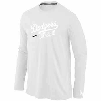 Los Angeles Dodgers Long Sleeve T-Shirt White
