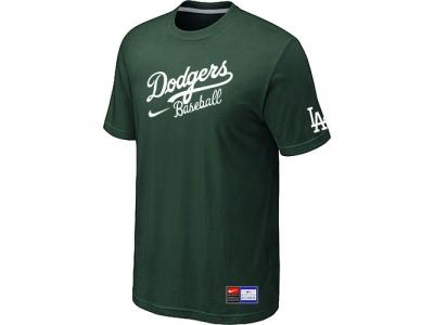 Los Angeles Dodgers NEW Short Sleeve Practice T-Shirt D.Green