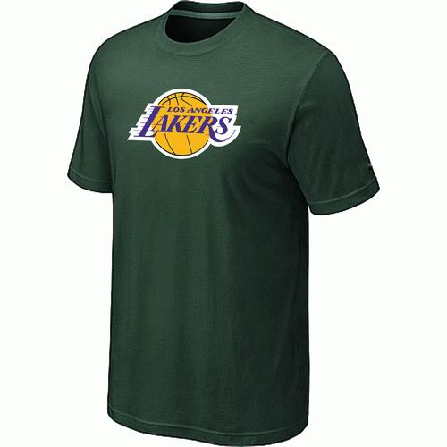 Los Angeles Lakers Big & Tall Primary Logo D.Green T-Shirt