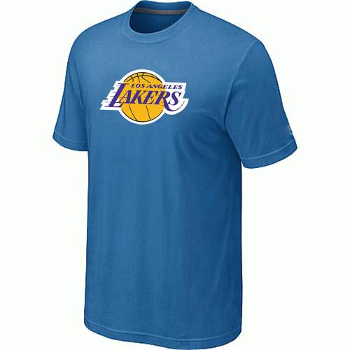 Los Angeles Lakers Big & Tall Primary Logo L.Blue T-Shirt