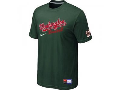 MLB Washington Nationals D.Green NEW Short Sleeve Practice T-Shirt