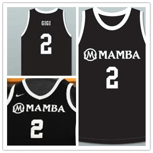 Mamba #2 Gigi Black Kobe Bryant Daughter Jersey
