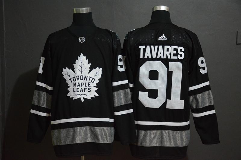 Maple Leafs 91 John Tavares Black 2019 NHL All-Star Adidas Jersey