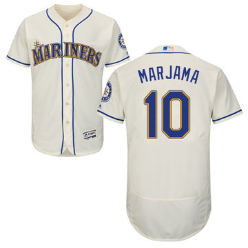 Mariners #10 Mike Marjama Flexbase Authentic Collection Stitched Baseball