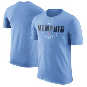 Memphis Grizzlies Blue Nike Practice Performance T-Shirt