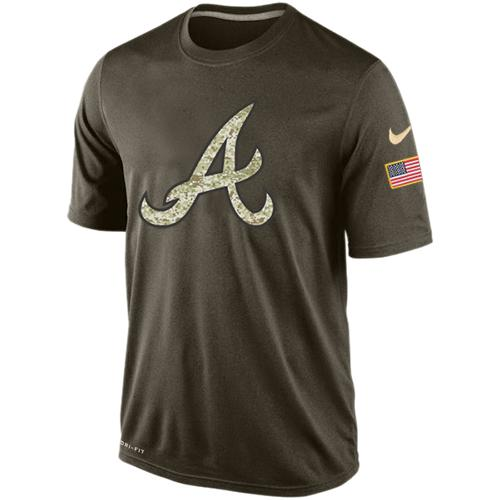 Men's Atlanta Braves Salute To Service Nike Dri-FIT T-Shirt