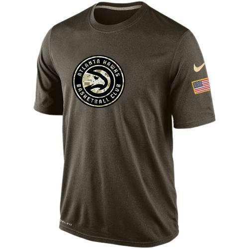 Men's Atlanta Hawks Salute To Service Nike Dri-FIT T-Shirt