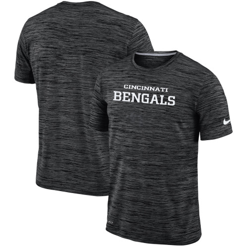 Men's Cincinnati Bengals Nike Black Velocity Performance T-Shirt