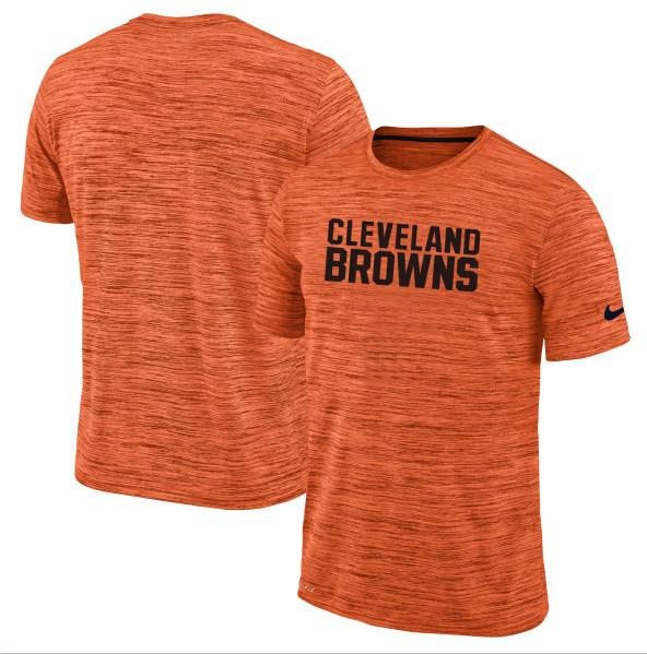 Men's Cleveland Browns Nike Orange Velocity Performance T-Shirt