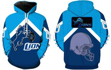Men's Detroit Lions Pullover Hoodie
