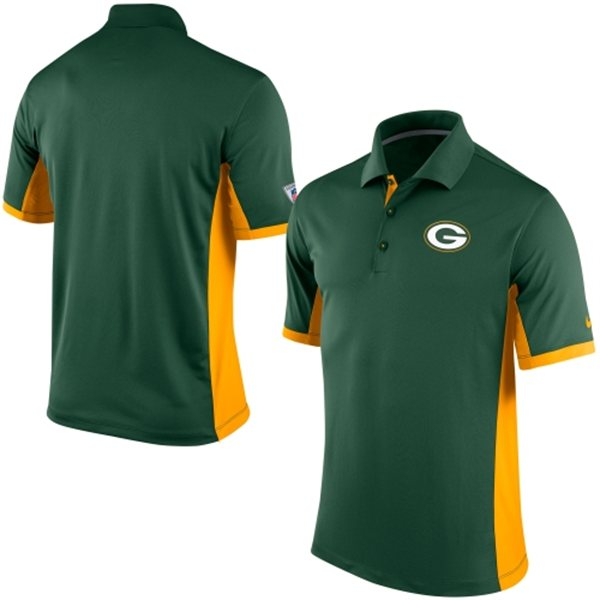 Men's Green Bay Packers Nike Green Team Issue Performance Polo