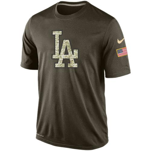 Men's Los Angeles Dodgers Salute To Service Nike Dri-FIT T-Shirt