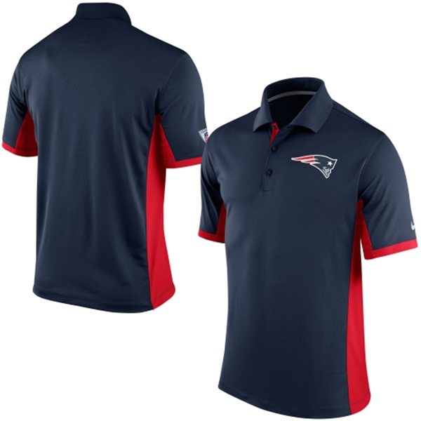 Men's New England Patriots Nike Navy Team Issue Performance Polo