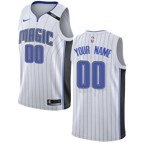 Men's Nike Orlando Magic Customized Authentic White NBA Association Edition Jersey